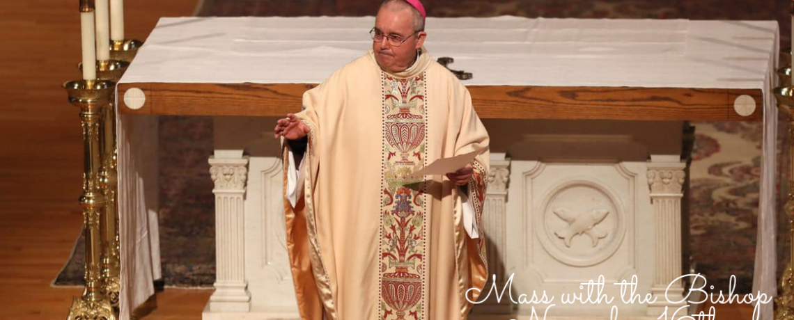 Mass with Bishop Talley