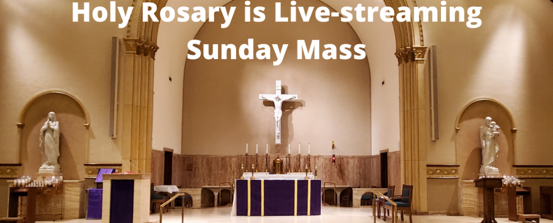 Weekend Mass at Holy Rosary