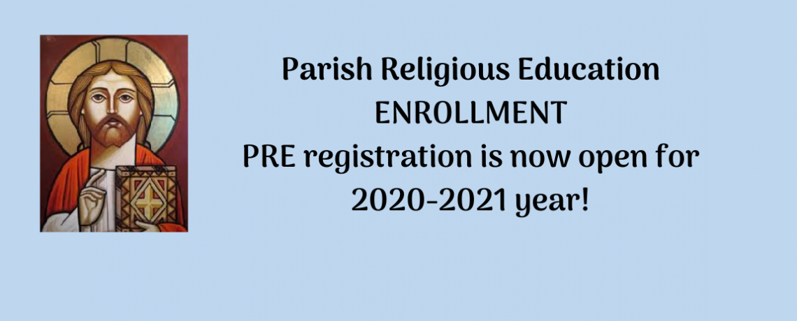 Parish Religious Education (PRE)