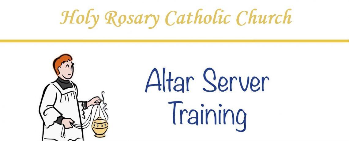 Join the Altar Server's Guild