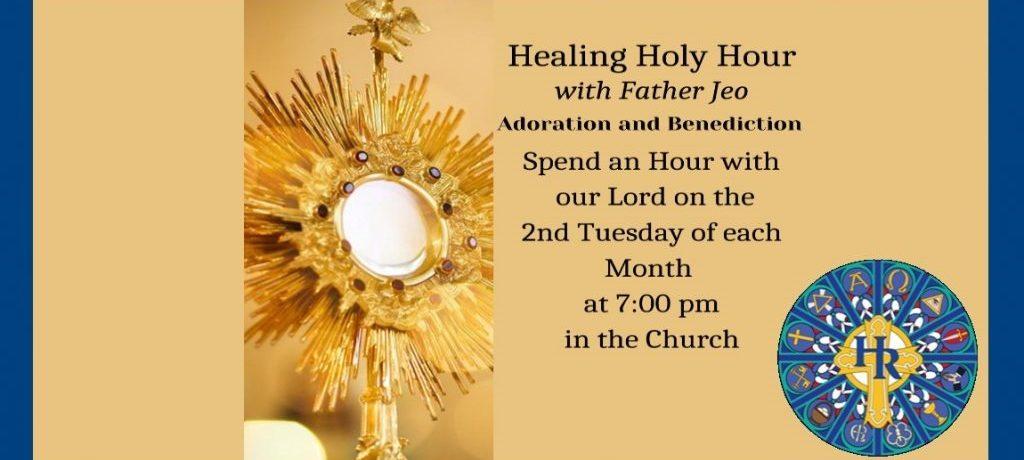 Healing Holy Hour